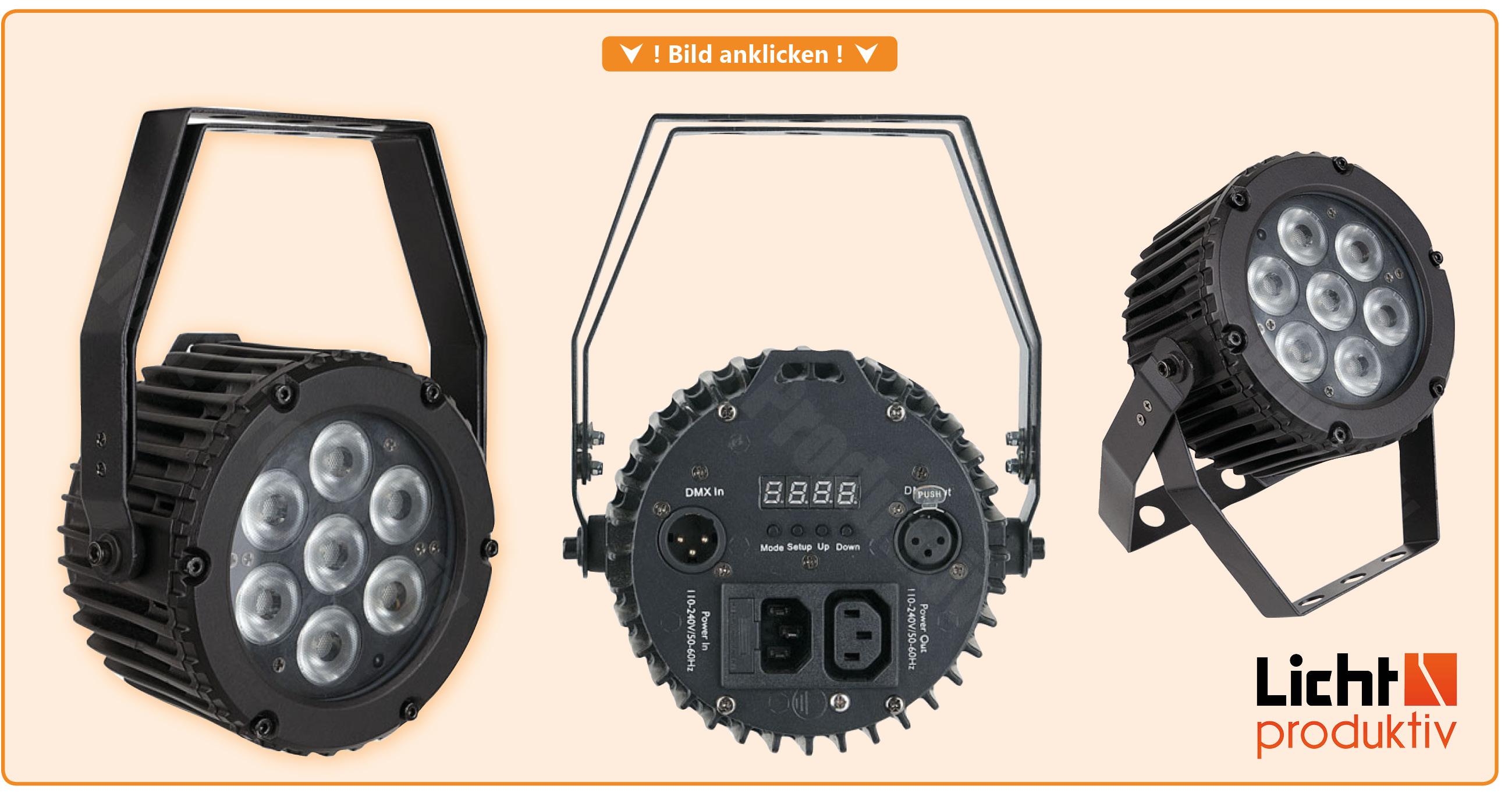 Produktlink Showtec Compact Par 7 MK2