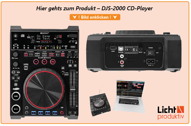 Produktlink DJS-2000 CD-Player