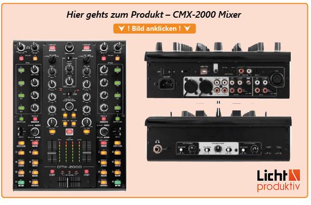 Produktlink CMX-2000 Mixer