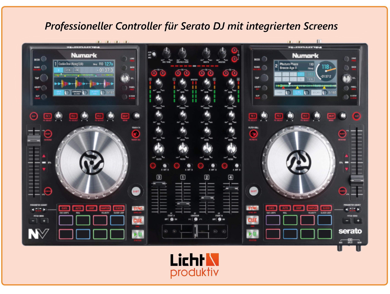 Produktlink Numark 4-Deck DJ Controller