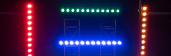 Light Set with LED bars