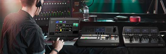 Video Mixer & Schnittpulte