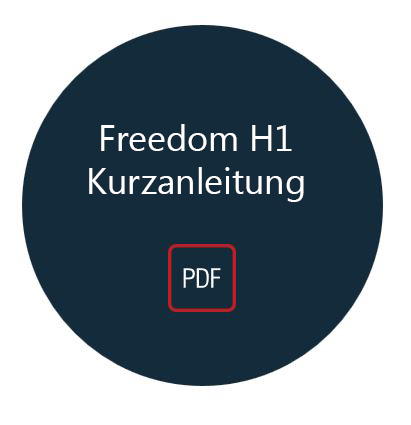 Freedom H1 Download Kurzanleitung