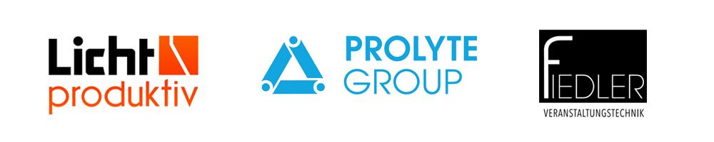 Licht-produktiv Prolyte Fiedler Veranstaltungstechnik Logo