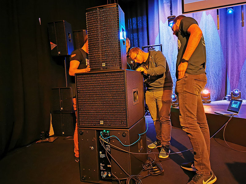 Live Demo Licht-produktiv Showroom