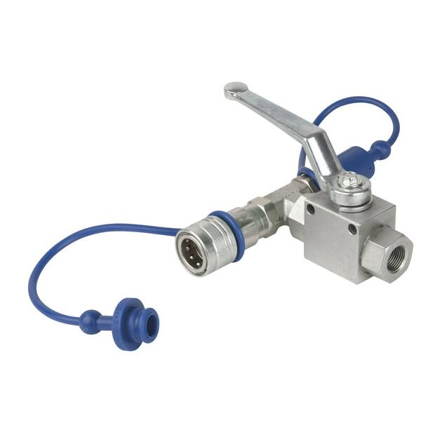 Showtec CO2 3/8 Q-lock release valve