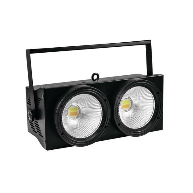 EUROLITE Audience Blinder 2x100W LED COB CW/WW