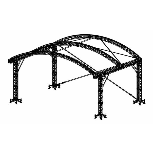 Prolyte ARC ROOF 8X6 Bühnendach - Main Part