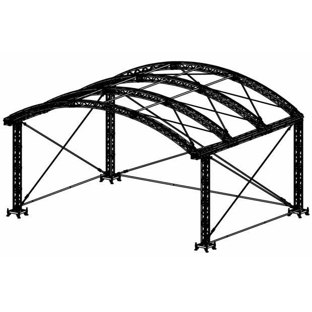Prolyte ARC ROOF 10X8 Bühnendach - Main Part