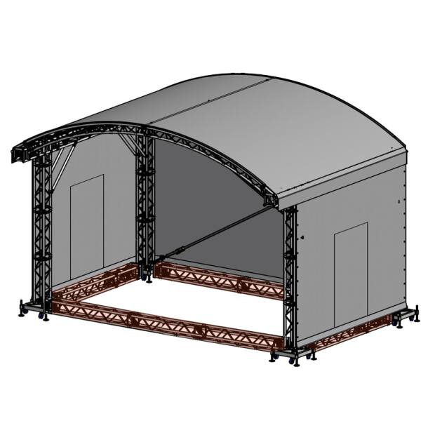 Groundring für Prolyte ARC ROOF 6x4
