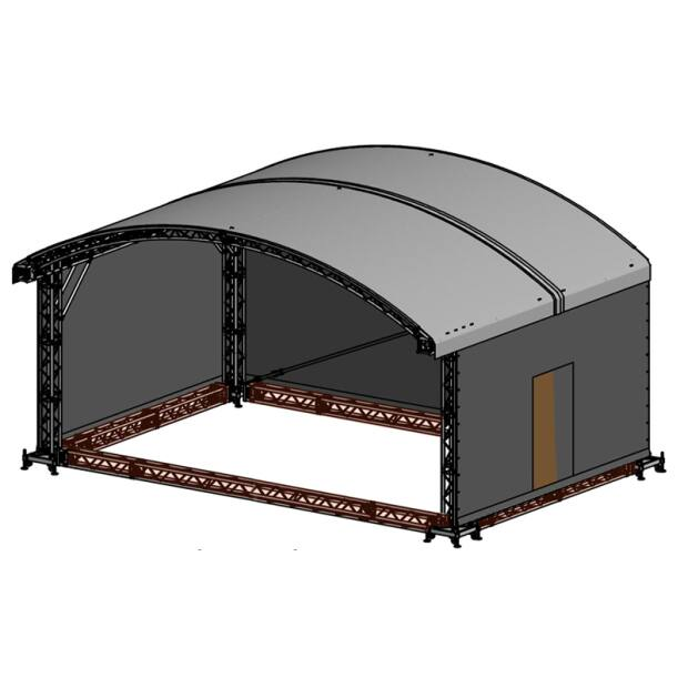Groundring für Prolyte ARC ROOF 8x6