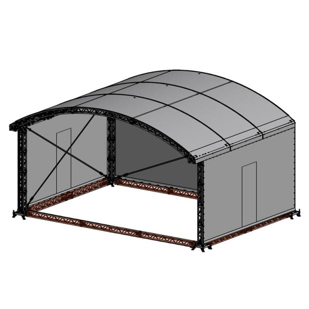 Groundring für Prolyte ARC ROOF 10x8