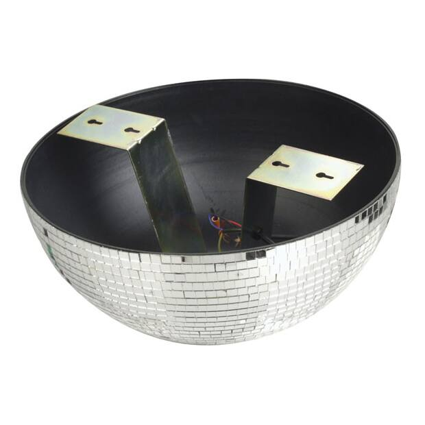 Showtec Half-mirrorball 30 cm - 30 cm Half mirrorball for wall and ceiling mount