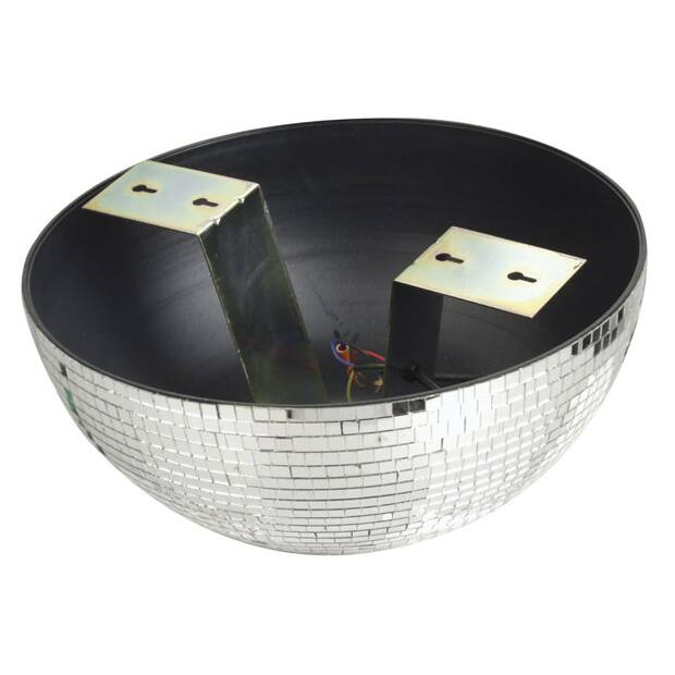 Showtec Half-mirrorball 40 cm - 40 cm Half mirrorball for wall and ceiling mount