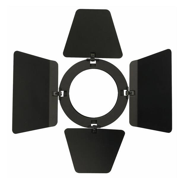 Showtec Barndoor for Compact Studio Beam - Black