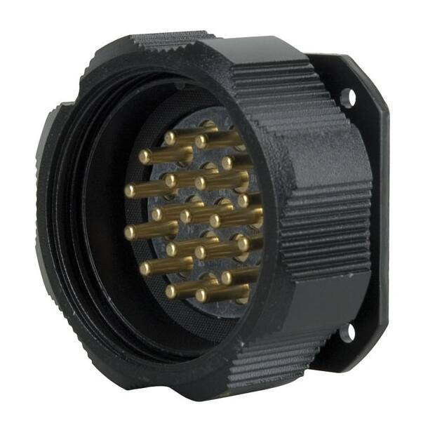 Showtec Socapex 19 Pin male chassis connector