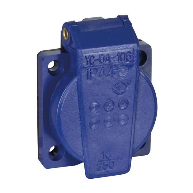 Showtec Chassis 230V/240V VDE Connector - Blau