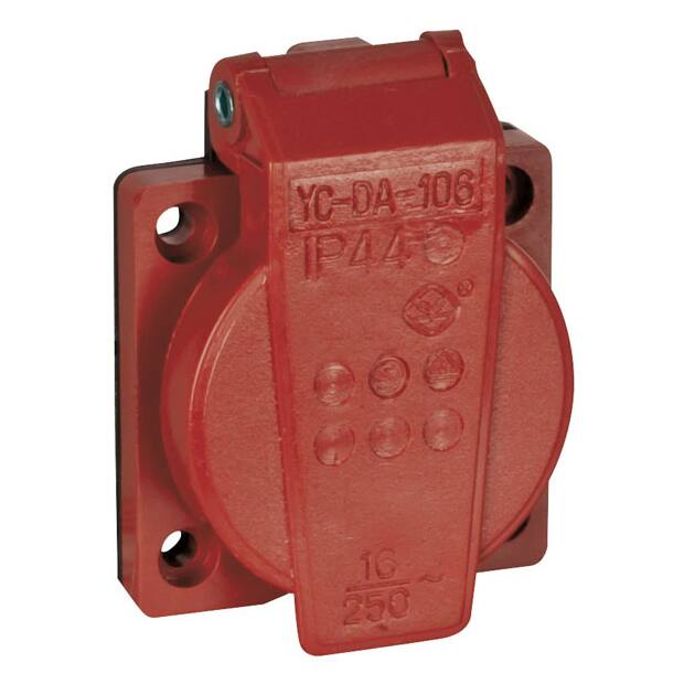 Showtec Chassis 230V/240V VDE Connector - Rot