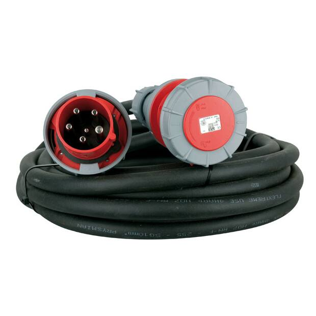 Lineax Extension Cable, 3 x 63A 380V