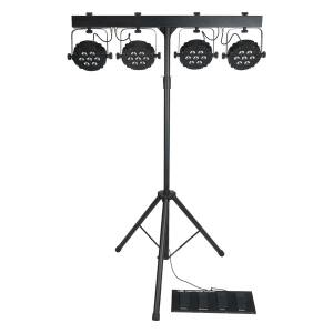 Showtec Compact power lightset MKII Incl. bag, footswitch...