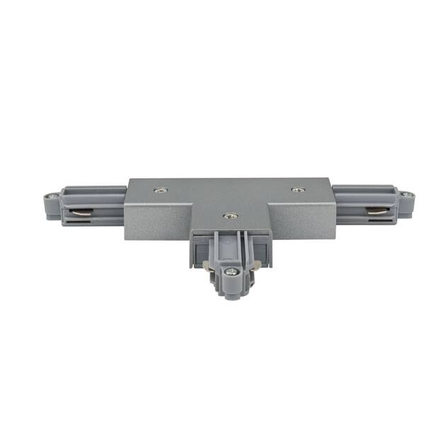 Artecta Left T-connector Alu 1-circuit track IP20