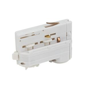 Artecta Adapter White 3-circuit track IP20