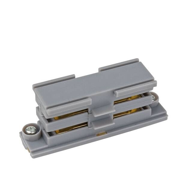 Artecta Straight connector Silver 3-circuit track IP20