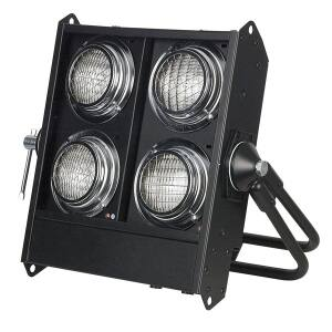 Showtec Stage Blinder 4 Black DMX Bulb 120V 650W DWE