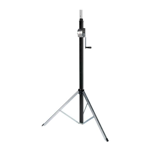 Showtec Basic 3800 Wind up stand - 80kg (excl. Adapter...