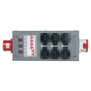 Showtec Split Power 32 - Powersplit with fuse