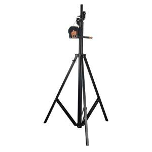 Showtec Wind Up Lightstand 4mtr SWL 50kg
