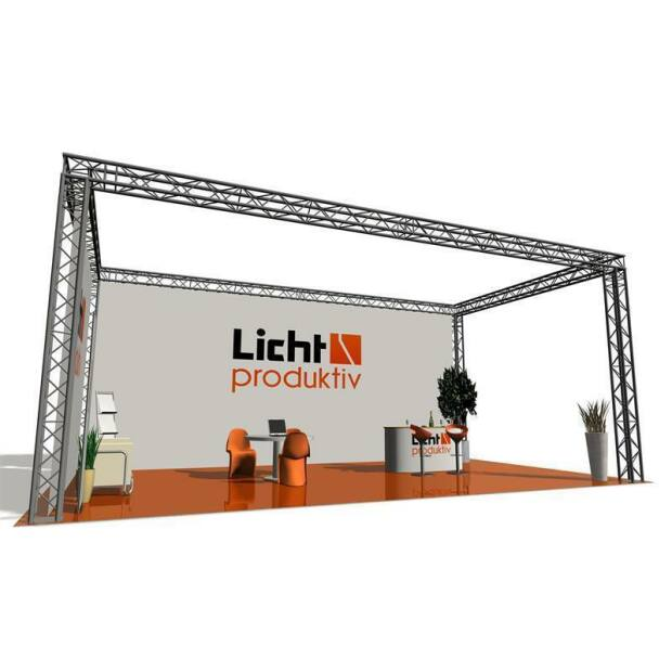Prolyte X30V Messestand 2 x 2 x 2,5 m 4-Punkt
